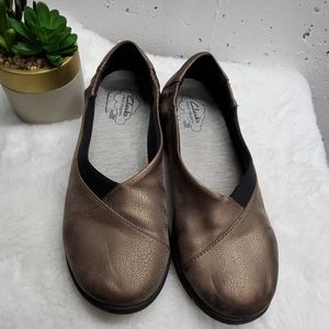 Clark's cloud steppers loafers 7 1/2.